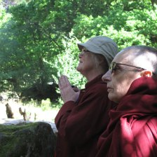 Buddhist Pilgrimages to Sacred Sites in Wales with Tenzin Palmo
