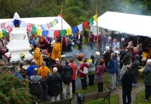 Sacred Stupa Site Consecration Event, North Wales
