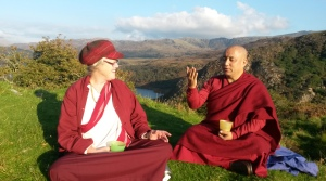 Buddhist Pilgrimage to Sacred Sites in North Wales