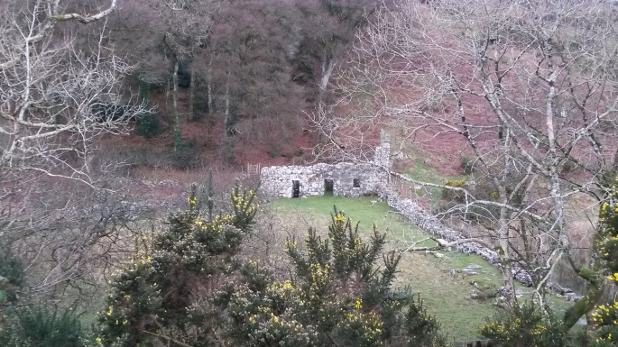 Llangybi Church site of the sacred St Cybi's Well