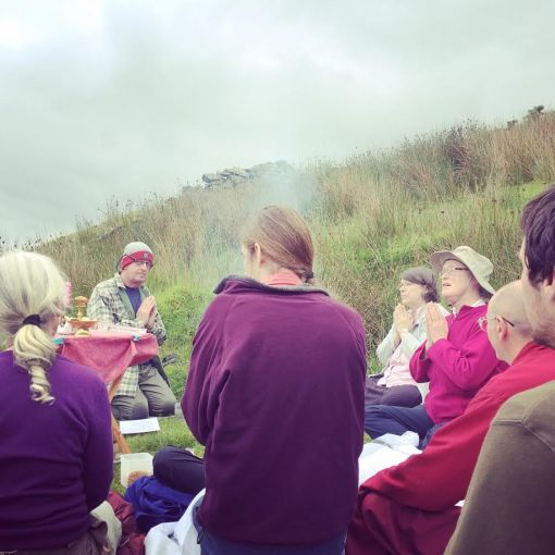 Connecting to the sacred sites of Wales through Buddhist ritual and practice