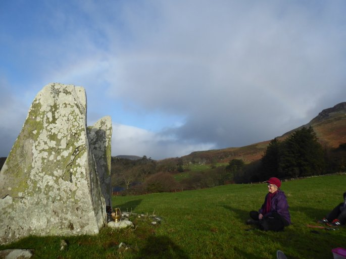 Buddhist Pilgrimage Cist Cerrig sacred Sites North Wales